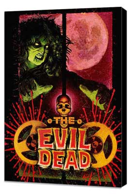 The Evil Dead - 27 x 40 Movie Poster - Style D - Museum Wrapped Canvas