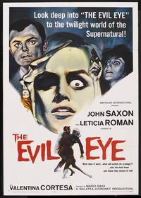 The Evil Eye - 43 x 62 Movie Poster - Bus Shelter Style A