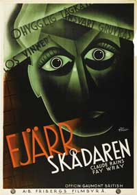 The Evil Mind - 11 x 17 Movie Poster - Swedish Style A