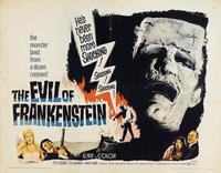 Evil of Frankenstein, The - 11 x 14 Movie Poster - Style A