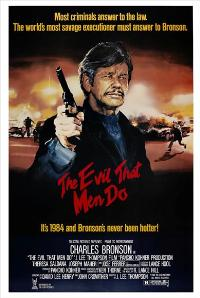 The Evil That Men Do - 27 x 40 Movie Poster - UK Style A