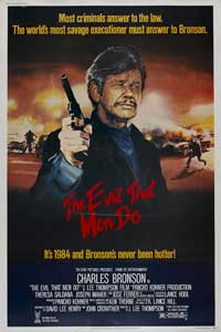 The Evil That Men Do - 43 x 62 Movie Poster - UK Style A