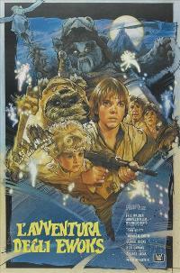 The Ewok Adventure - 27 x 40 Movie Poster - Italian Style A