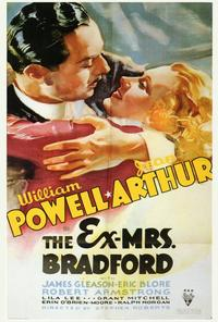 The Ex-Mrs. Bradford - 27 x 40 Movie Poster - Style A