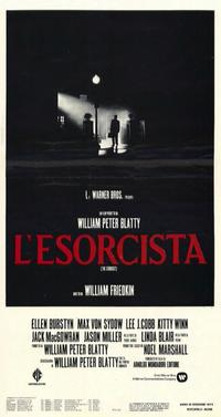 The Exorcist - 11 x 17 Movie Poster - Italian Style A