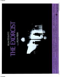 The Exorcist - 22 x 28 Movie Poster - Half Sheet Style A
