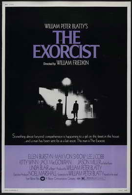 The Exorcist - 27 x 40 Movie Poster - Style F
