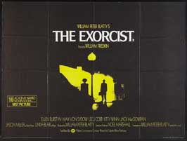 The Exorcist - 30 x 40 Movie Poster UK - Style A