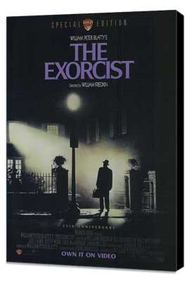 The Exorcist - 11 x 17 Movie Poster - Style A - Museum Wrapped Canvas
