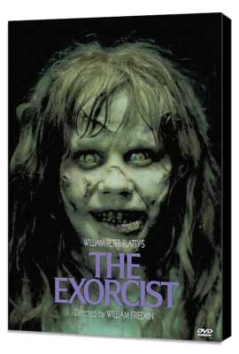 The Exorcist - 11 x 17 Movie Poster - Style D - Museum Wrapped Canvas