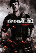 The Expendables 2 - 27 x 40 Movie Poster - Style D