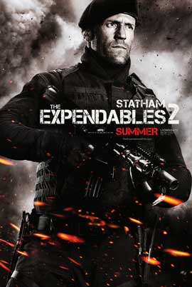 The Expendables 2 - DS 1 Sheet Movie Poster - Style A