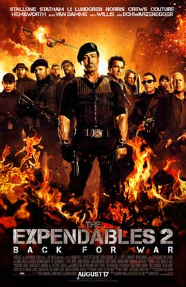 The Expendables 2 - 11 x 17 Movie Poster - Style E