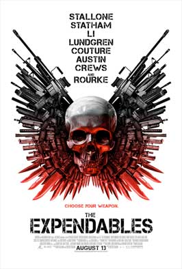 The Expendables - 43 x 62 Movie Poster - Bus Shelter Style B
