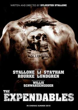 The Expendables - 11 x 17 Movie Poster - Danish Style A