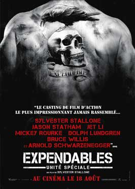 The Expendables - 27 x 40 Movie Poster - French Style B
