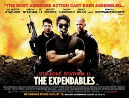 The Expendables - 11 x 17 Movie Poster - UK Style A