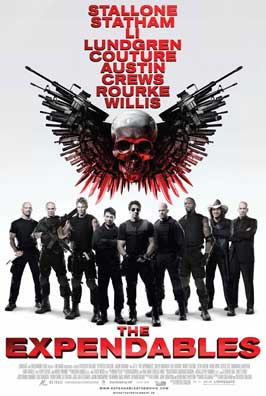 The Expendables - 43 x 62 Movie Poster - Bus Shelter Style D