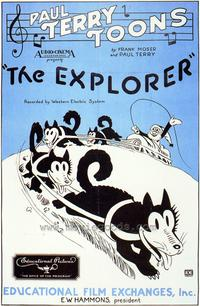 The Explorer - 43 x 62 Movie Poster - Bus Shelter Style A