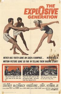 The Explosive Generation - 11 x 17 Movie Poster - Style A