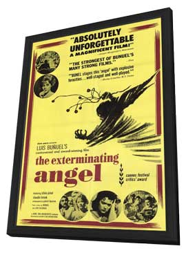 The Exterminating Angel - 11 x 17 Movie Poster - Style A - in Deluxe Wood Frame