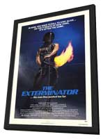 Exterminator - 11 x 17 Movie Poster - Style A - in Deluxe Wood Frame
