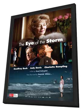 The Eye of the Storm - 27 x 40 Movie Poster - Style A - in Deluxe Wood Frame