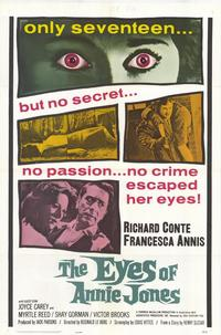 The Eyes of Annie Jones - 27 x 40 Movie Poster - Style A