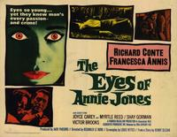 The Eyes of Annie Jones - 22 x 28 Movie Poster - Half Sheet Style A
