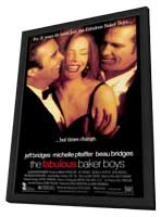 The Fabulous Baker Boys - 27 x 40 Movie Poster - Style A - in Deluxe Wood Frame