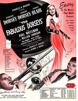 Fabulous Dorseys, The - 11 x 17 Movie Poster - Style A