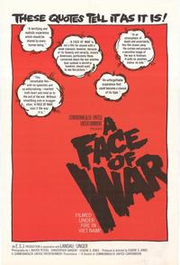Face of War - 27 x 40 Movie Poster - Style A