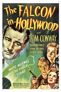 The Falcon in Hollywood - 43 x 62 Movie Poster - Bus Shelter Style A