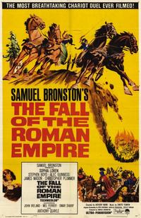 The Fall of the Roman Empire - 11 x 17 Movie Poster - Style A