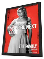 The Family - 11 x 17 Movie Poster - Style B - in Deluxe Wood Frame