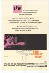 Family Way - 27 x 40 Movie Poster - Style A