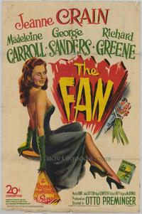 The Fan - 11 x 17 Movie Poster - Style A