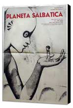 The Fantastic Planet - 11 x 17 Movie Poster - Romanian Style A - Museum Wrapped Canvas