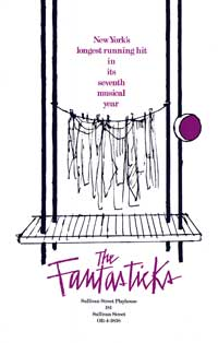 The Fantasticks (Broadway) - 27 x 40 Poster - Style A