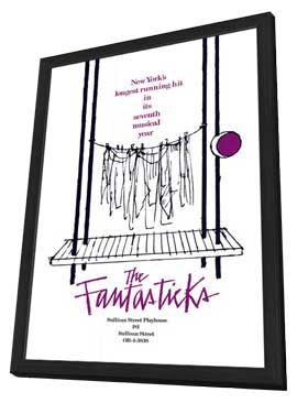 The Fantasticks (Broadway) - 11 x 17 Poster - Style A - in Deluxe Wood Frame