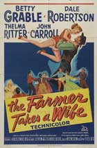 The Farmer Takes a Wife - 11 x 17 Movie Poster - Style B
