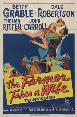 The Farmer Takes a Wife - 27 x 40 Movie Poster - Style B