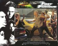 The Fast and the Furious - 11 x 14 Movie Poster - Style G