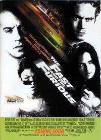 The Fast and the Furious - 27 x 40 Movie Poster - Style B
