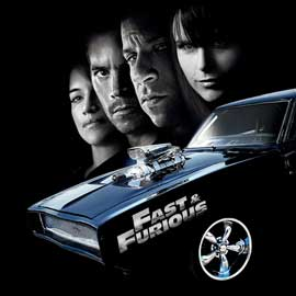 The Fast and the Furious - 30 x 30 Movie Poster - Style A
