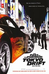 The Fast and the Furious: Tokyo Drift - 11 x 17 Movie Poster - Style A
