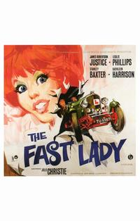The Fast Lady - 11 x 17 Movie Poster - Style A