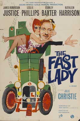 The Fast Lady - 11 x 17 Movie Poster - UK Style A