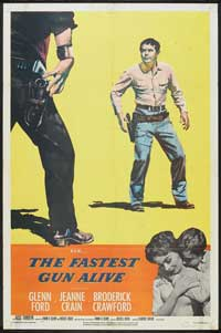The Fastest Gun Alive - 11 x 17 Movie Poster - Style B