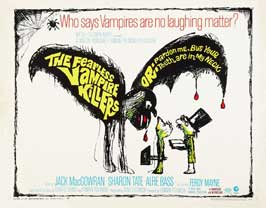 The Fearless Vampire Killers - 11 x 14 Movie Poster - Style A